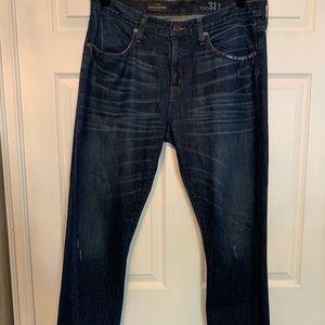 Woman's J crew broken in boyfriend jeans
